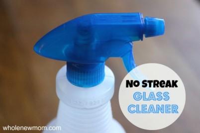 No-Streak Homemade Glass Cleaner-s