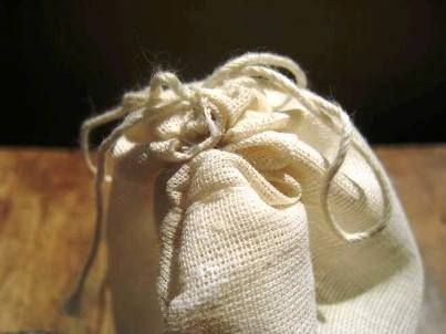 Natural Homemade Fabric Softener Sachets