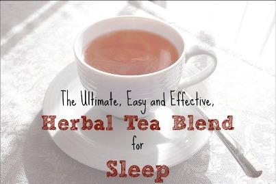 Herbal Sleep Tea – The Ultimate, Effective and Easy ...
