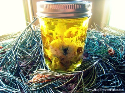 How To Make Pinon Oil And Salve