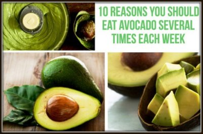 15 Reasons Why You Should Eat An Avocado Several Times Each Week