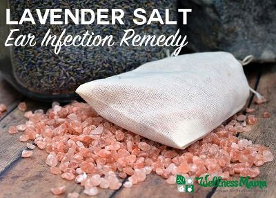 Homemade Lavender Salt Ear Infection Remedy
