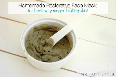 Homemade Restorative 3 Ingredient Face Mask
