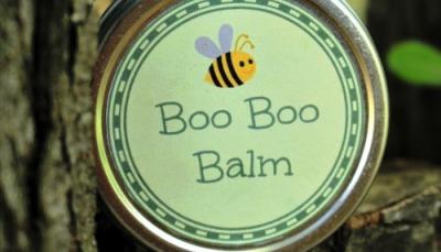 How to Make Homemade Boo Boo Balm