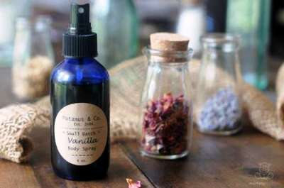 Vanilla Body Spray Recipe