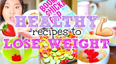 Easy + Healthy Recipes to Lose Weight