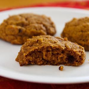Healthy Pumpkin Recipe - Cookies