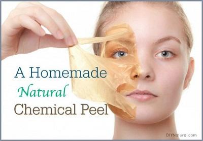 Homemade Natural Chemical Peel