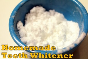 How to Make An All Natural Teeth Whitener