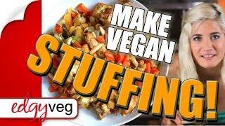 Vegan Stuffing Recipe (Gluten Free Thanksgiving