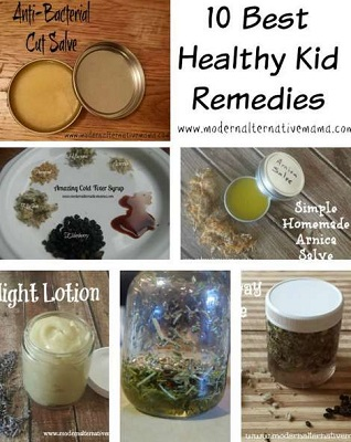 10 Best Healthy Kids Remedies