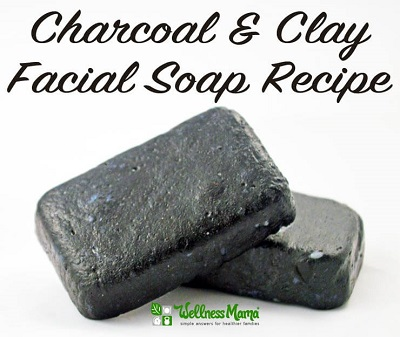 Charcoal & Clay Facial Soap Recipe