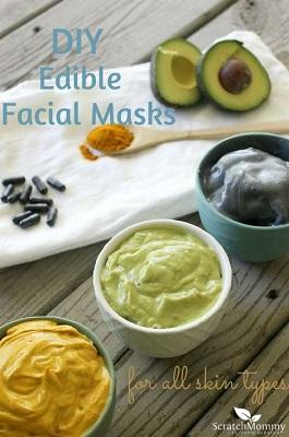 DIY Edible Face Masks For All Skin Types