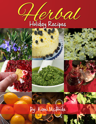 Herbal Holiday Recipes Cookbook