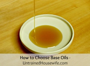 How to Choose Base Oils for Homemade Body Oils