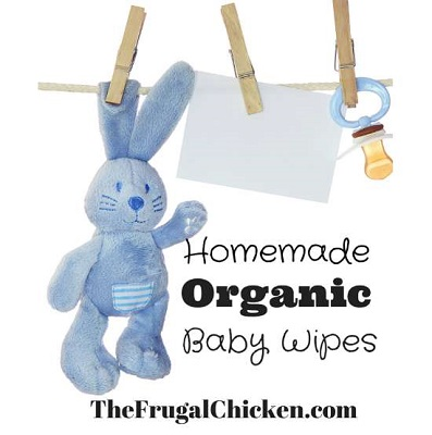 Organic Homemade Baby Wipes