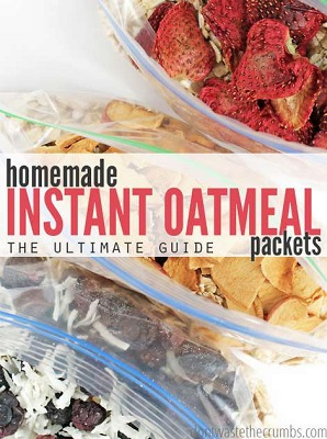 The Ultimate Guide To Homemade Instant Oatmeal Packets