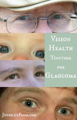 Vision Health Tincture For Glaucoma Treatment