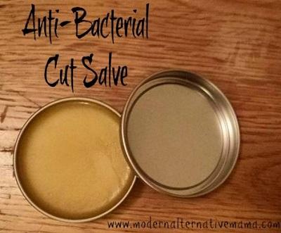 Antibacterial Cut Salve Recipe