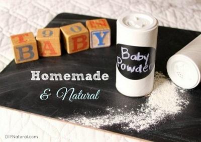 Homemade Natural Baby Powder