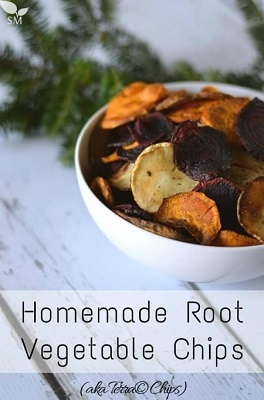 How To Make Homemade Root Vegetable Chips