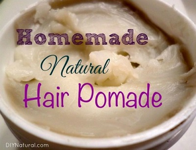 Natural Non-Greasy Homemade Hair Pomade And Texturizer