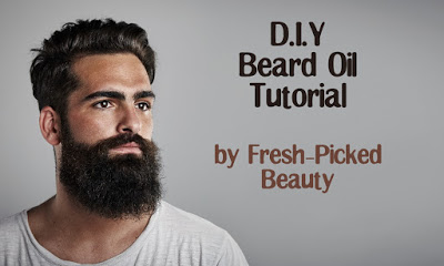 D.I.Y Homemade Beard Oil Tutorial