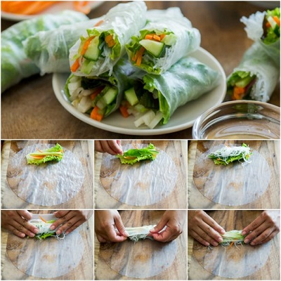 Learn How To Make Spring Rolls