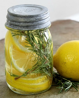 Lemon And Rosemary Natural Room Scent Recipe