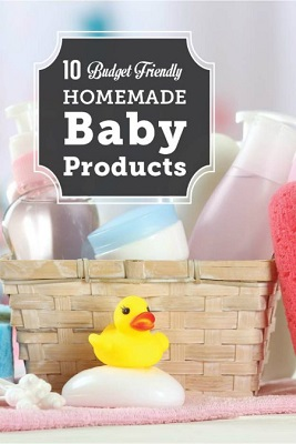 10 Homemade Baby Products To Make Naturally