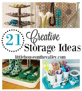 21 Fun Creative Storage Ideas For Every Room