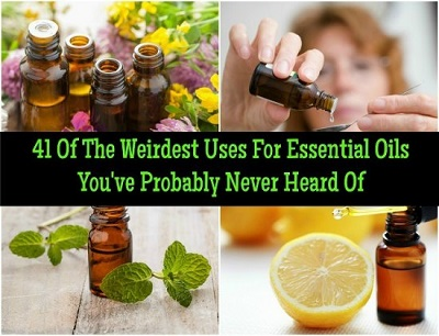 41 Of The Weirdest Uses Of Essential Oils