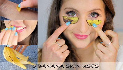 5 DIY Banana Peel Uses