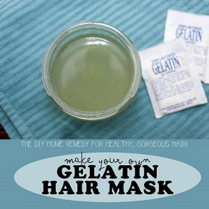 Gelatin Hair Mask For Sleek And Smooth Hair