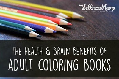 Health Benefits Of Adult Coloring Books + 18 Free Coloring Sources