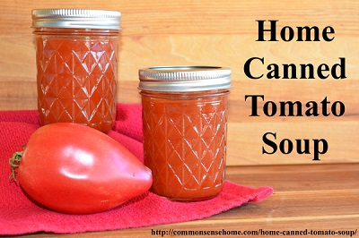 Home Canned Tomato Soup