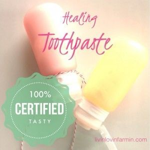 Homemade Healing Toothpaste Recipe