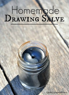 Homemade Natural Drawing Salve