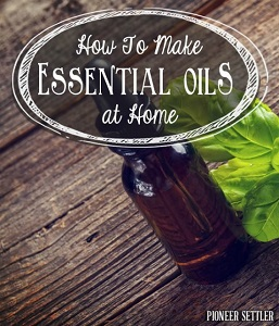 How To Make Essential Oils At Home