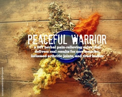 Peaceful Warrior Pain Relieving Salve