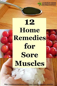 12 Home Remedies For Sore Muscles