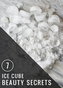 7 Ice Cube Beauty Secrets