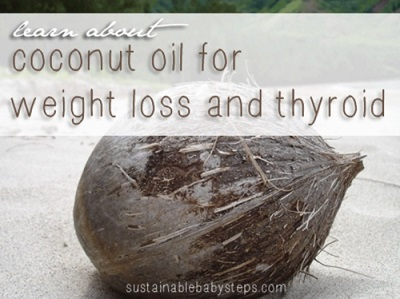 How Coconut Oil Helps You Lose Weight & Fixes Your Thyroid