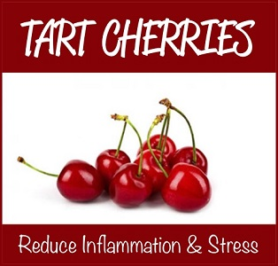How Tart Cherries Reduce Inflammation & Oxidative Stress