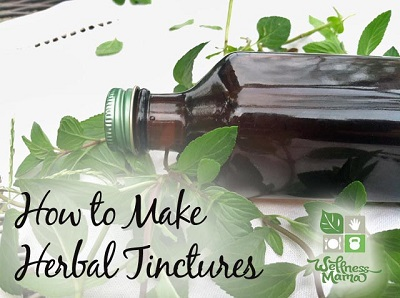 How to Make Herbal Tinctures
