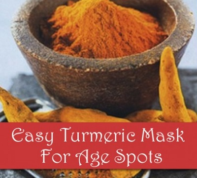 Easy Turmeric Face Mask For Age Spots