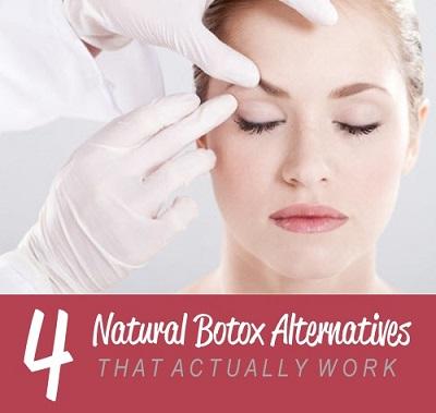 4 Natural Botox Alternatives That Actually Work