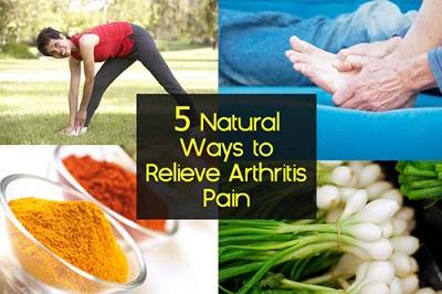 5 Natural Ways To Relieve Arthritis Pain