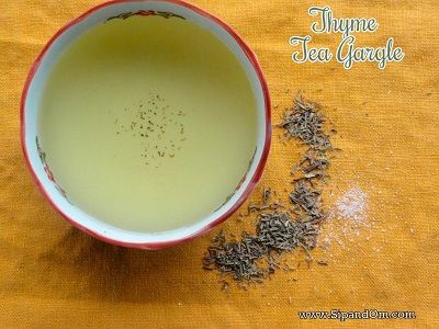 How to Make Thyme Tea to Reduce Coughing