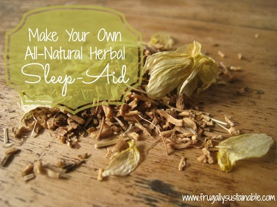 Make Your Own All-Natural Herbal Sleep Aid